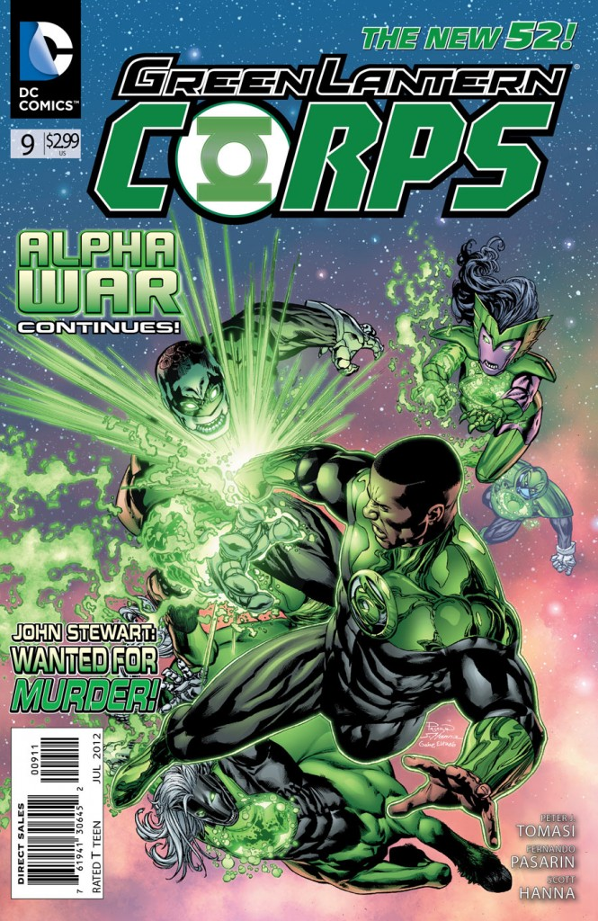 Green lantern corps comic cover - photo#7
