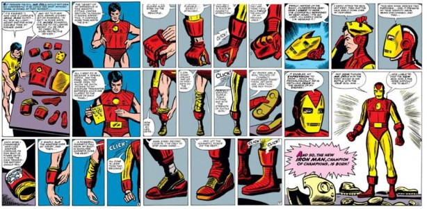 Iron Man's first appearance in Tales of Suspense #39