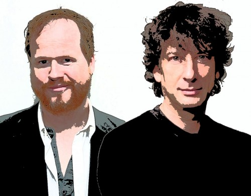 Joss-Whedon-and-Neil-Gaiman
