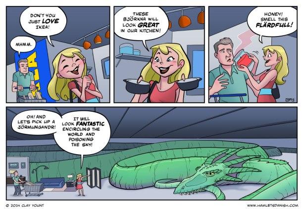 Ikea joke comics
