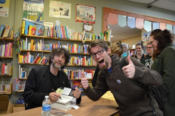 Gaiman-book signing-oldfirehousebooks